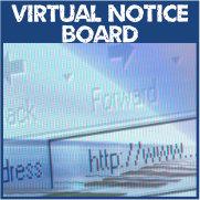 Virtual Notice Board Button