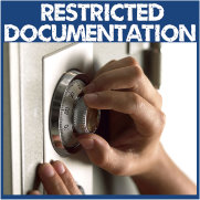 Restricted Documentation Button